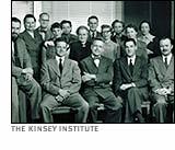 institute staff including; Kinsey, Pomeroy, Gebhard, Martin, 1953