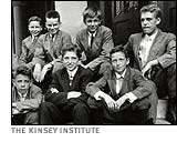 young Alfred Kinsey with friends, 1910
